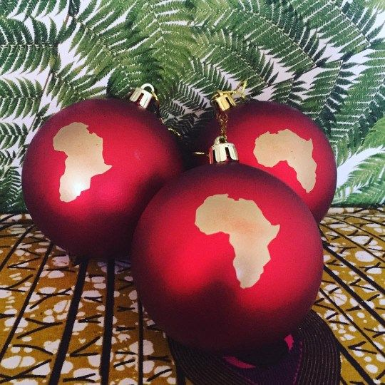 The Africa Holiday Ornament