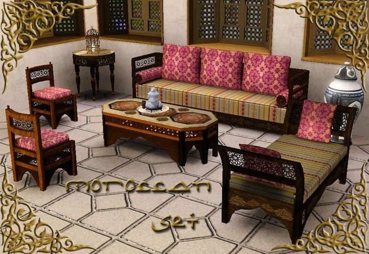 17 best images about mod the sims on pinterest carpets Moroccan style living room furniture