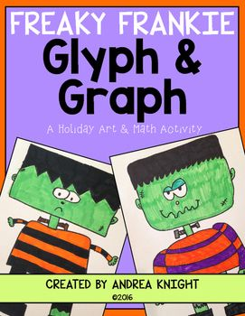 freaky frankie a glyph graph math activity for halloween - Halloween Glyphs