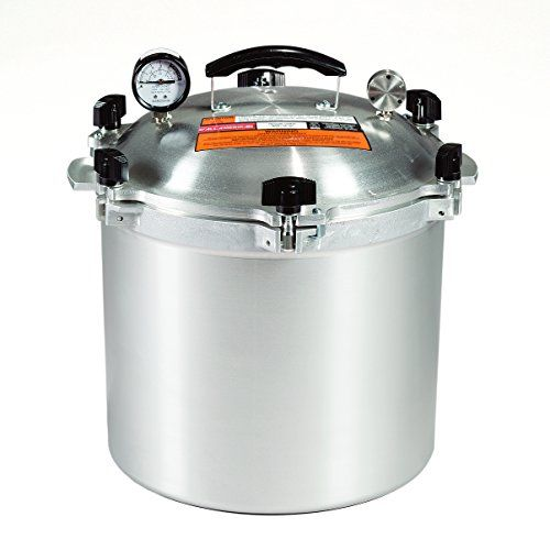 All American 921 21-1/2-Quart Pressure Cooker/Canner - Where have you been all my life??  I love you, awesome pressure canner!