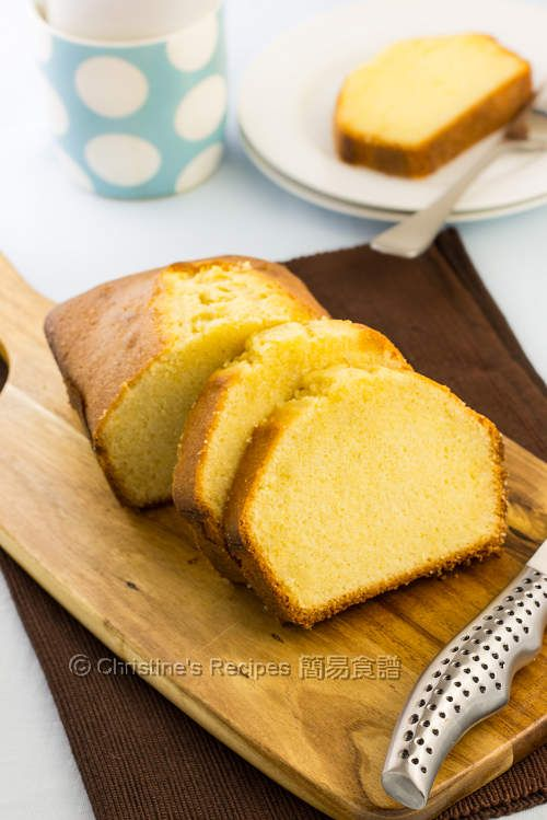 Butter Pound Cake from Christine's Recipes