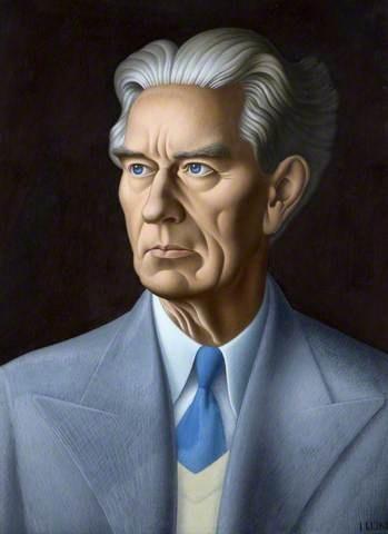 Alexander Irvine portrait by John Luke
