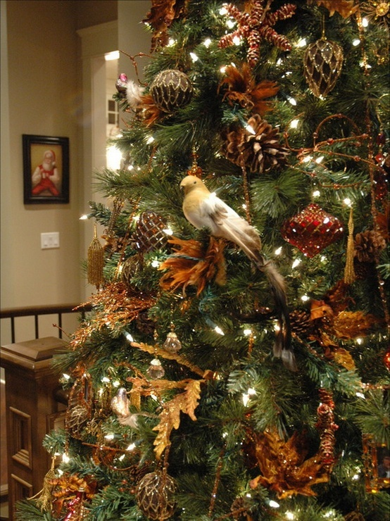 christmas tree decorating ideas holidays pinterest. Black Bedroom Furniture Sets. Home Design Ideas