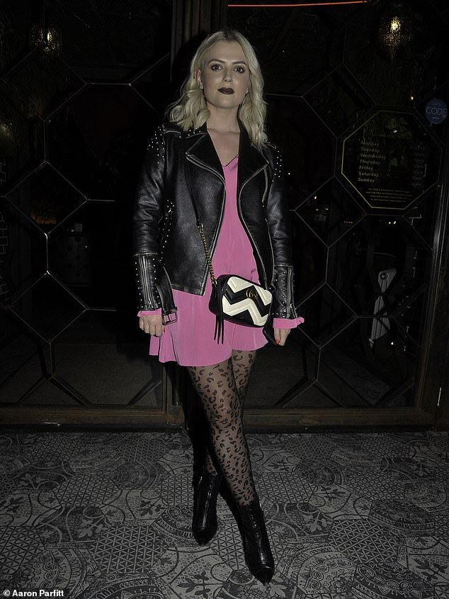 Coronation Street S Lucy Fallon Enjoys Date Night With Tom Leech Lucy Fallon Date Night Pink Mini Dresses
