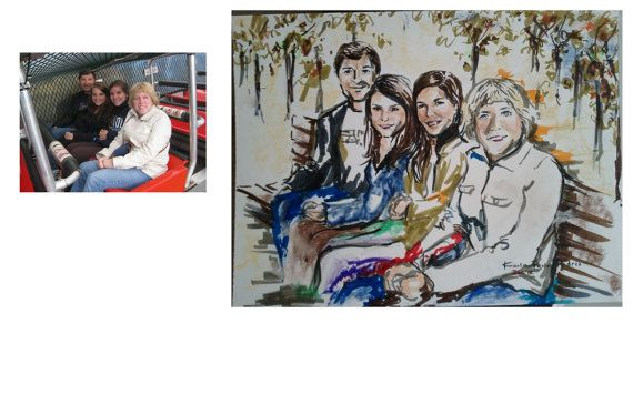 Your Own Portraits Custom made Prices Vary by karlapl on Etsy, $59.00