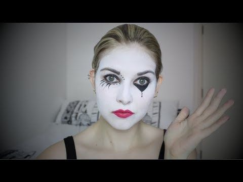 Halloween - Mime Make Up Tutorial