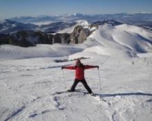 VISIT GREECE| Falakro Mt. Ski resort during winter time #Drama #Macedonia #Greece