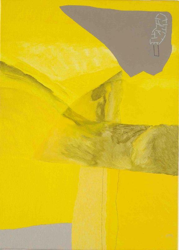 São Mamede - Galeria de Arte  Fala Mariam a paisagem proibida 161)07 2015 Acrilico x Tela 33 cm x 24 cm