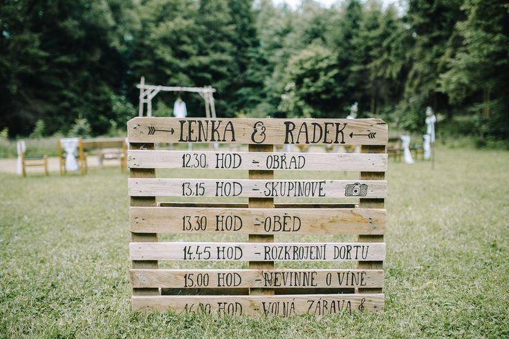 Letní svatba s vůní lesa