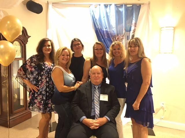 Arundel Lodge's Finance Team, Juanita Strauss, Linda Knowlton, Chris Ramsey, Jim Buckey, Erin Berkshire-Hobbs, Kerry Lowry, Cindy Chagnon