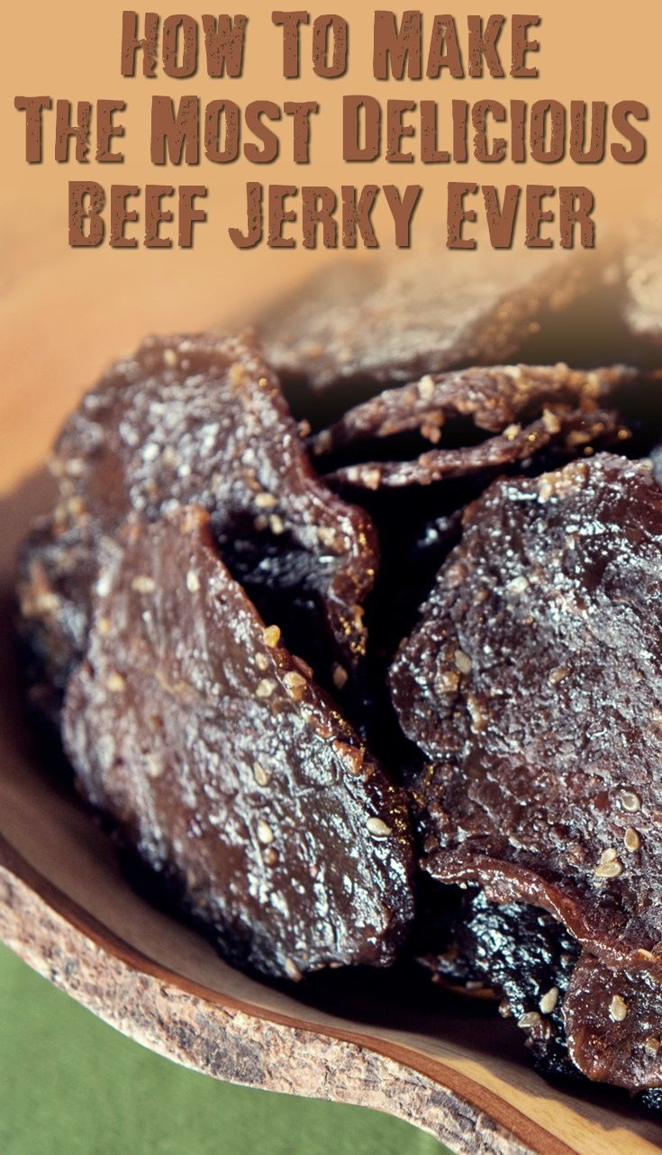 How To Make The Most Delicious Beef Jerky Ever - If SHTF, I won't be eating the expensive store-bought beef jerky--the kind packed with salt and sodium nitrites (which has been linked to cancer). I'll be eating my own beef jerky. It's healthy, delicious, and far cheaper.