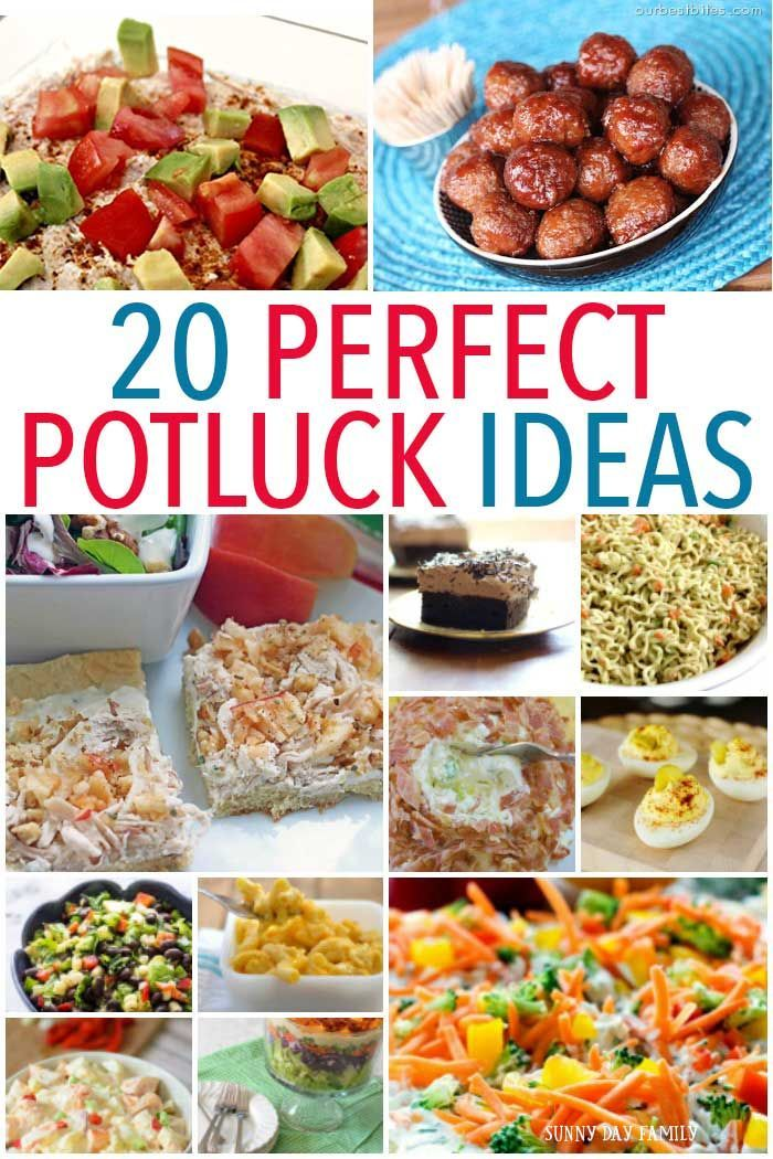 20 Perfect Potluck Ideas More Summer Bbq And Potlucks Ideas