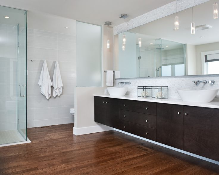 Modern Amp Clean Master Ensuite With Curbless Shower
