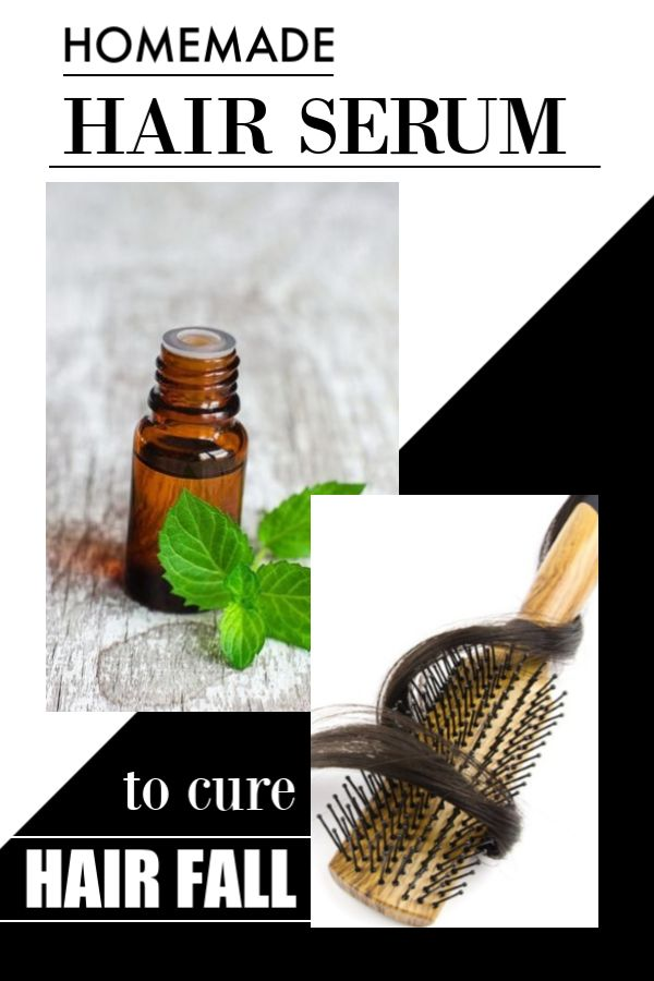 Amazing Remedy to Cure Hair Fall with Homemade Hair Serum & Oil