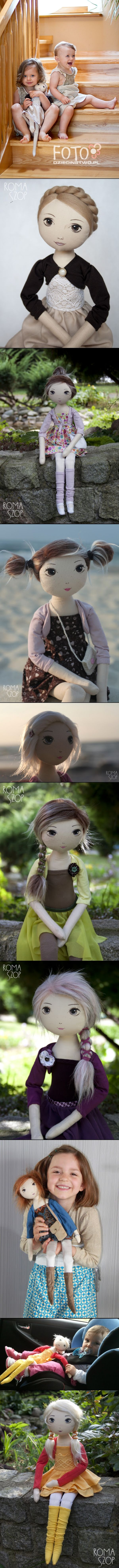 Beautiful and very detailed dolls, that are actually ment for children to play with! - created via http://pinthemall.net
