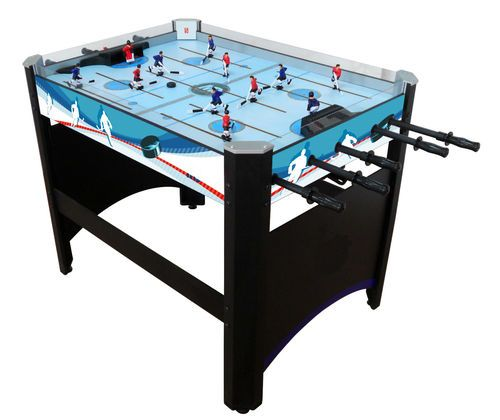 table hockey game. rod hockey table solid and very nice game pro | ebay a