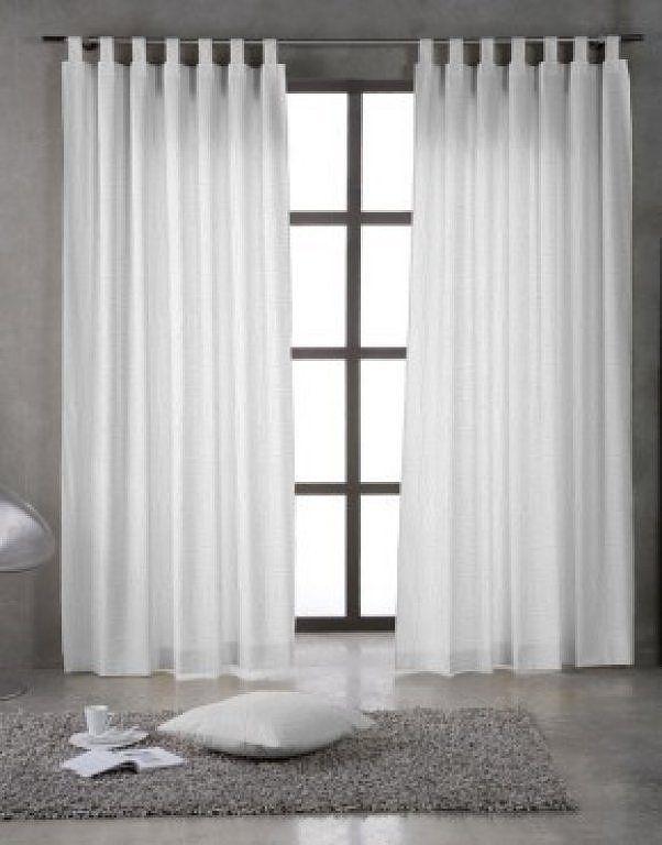 cortinas con barra de aceros