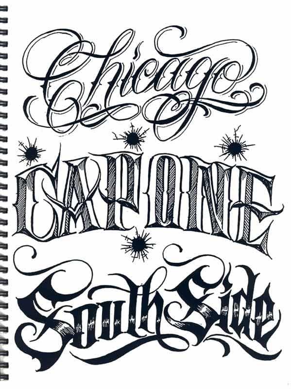 Fancy Writing Graffiti And Fancy Writing Tattoos Chicano