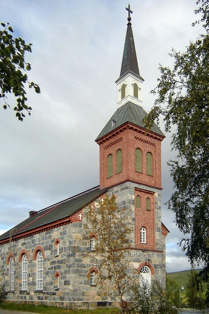 Church of Utsjoki, Lapland - Utsjoen kirkko - Photo BishkekRocks / Wikimedia
