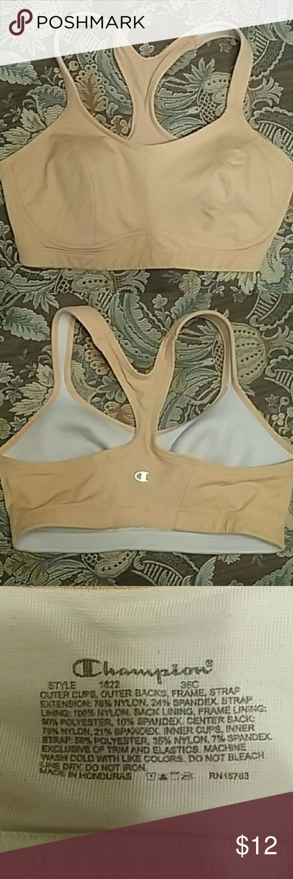 Sports Bra 36C Pastel orange sports bra 36c Champion Intimates & Sleepwear Bras