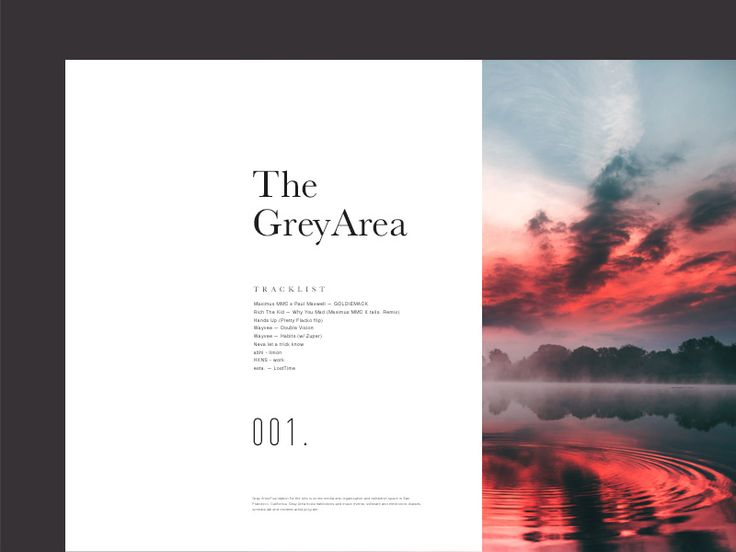 The Grey Area — Mix Series Cover