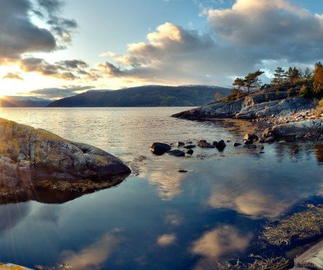 7 ports for a superyacht charter in the Baltic Sea: Floro, Norway