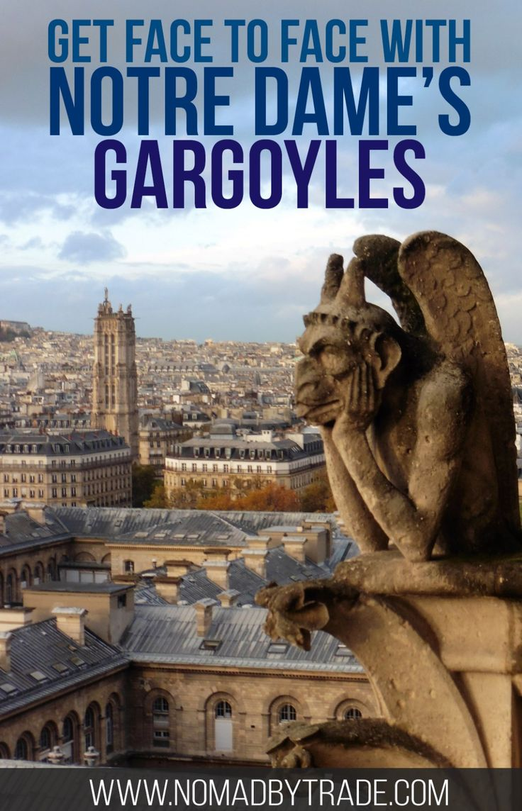 Info for visiting the Notre Dame cathedral in Paris, France. Don't forget to climb the towers. Ile de la Cite   Things to do in Paris   Where to see Notre Dame   Gargoyles   Paris Museum Pass