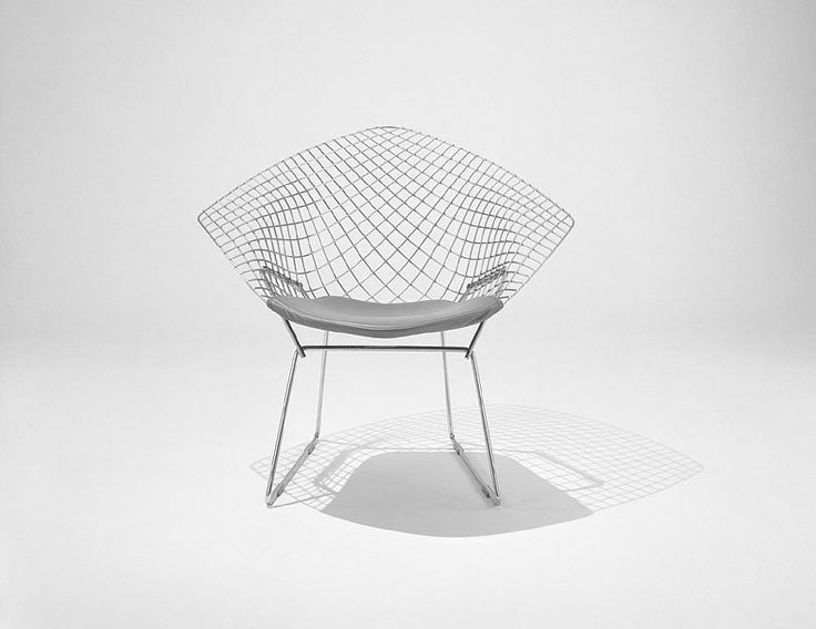 Diamond Chair By Harry Bertoia Circa 1952 U201cIf You Look At These Chairs,  They Are Mainly Made Of Air, Like Sculpture. Space Passes Right Through  Them.
