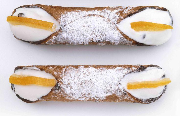 Cannolo Siciliano Bindi #monoporzioni #dessert