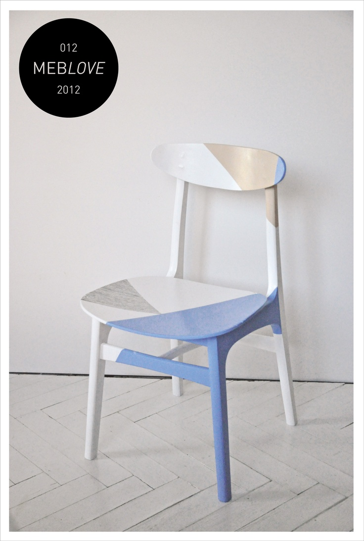 meblove 012     vintage design, geometric, deconstruction chair