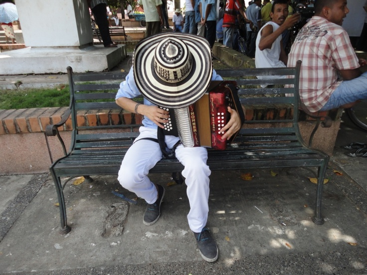 Accordion Player. Copyright Uncover Colombia
