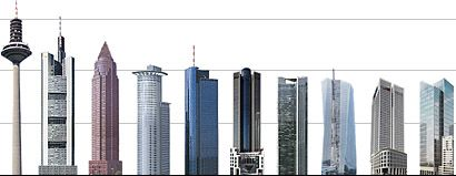 Hochhaus-Vergleich (Ausschnitt), © Stadt Frankfurt am Main