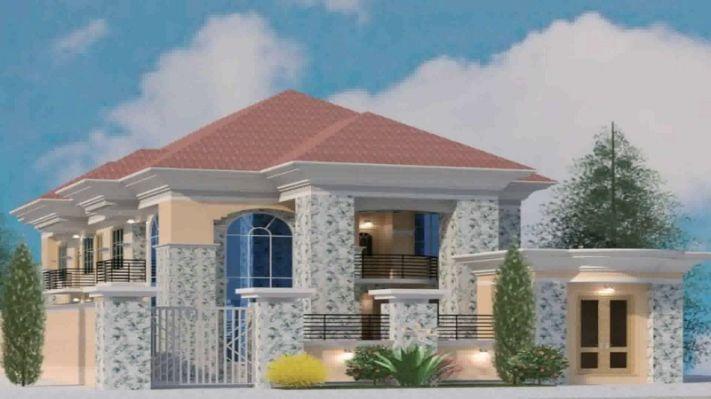 Nigerian Interior House Design Fachadas Casas Minimalistas Disenos De Casas Casas Modernas