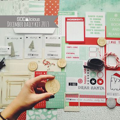 SODAlicious December 2013 Kit! ♥