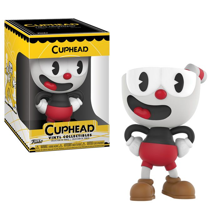 Funko just announced Cuphead figures and hot dawg they look amazing!