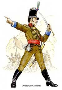 Infantry Caçadores Officer