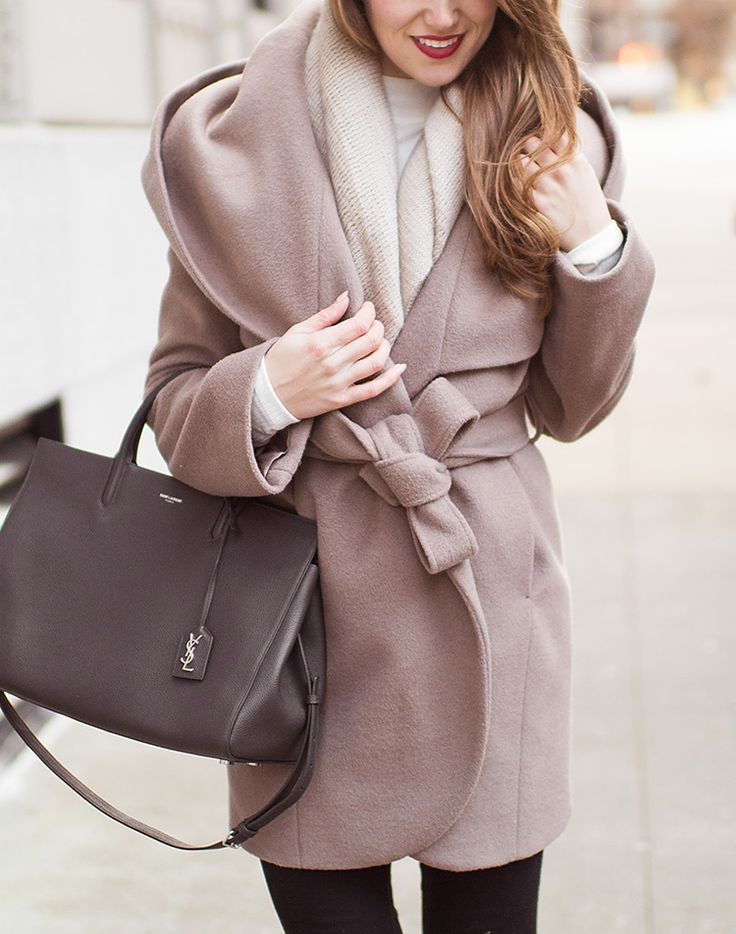 Olivia Pope Wrap Coat By Lonestar Southern