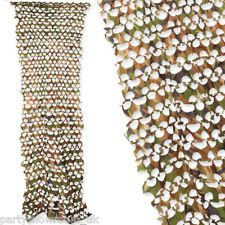2.3m Green Brown Army Camouflage Net Netting Cover Door Wall Party Decoration