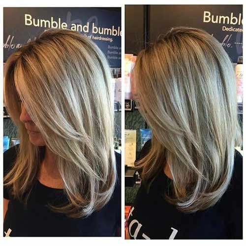 Astounding 25 Best Ideas About Medium Long Haircuts On Pinterest Long Lob Hairstyle Inspiration Daily Dogsangcom