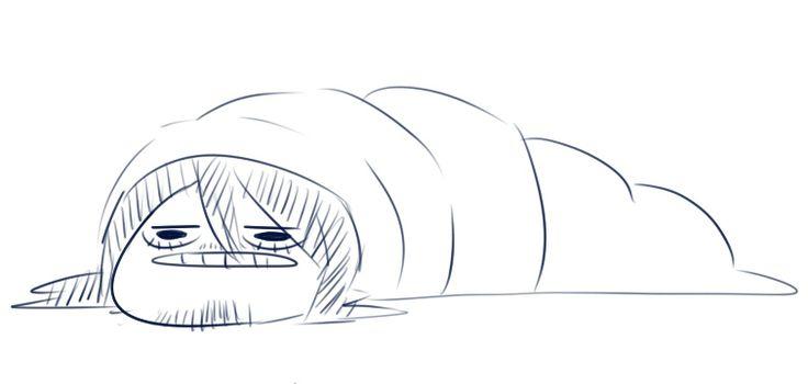 Boku no Hero Academia — jonariku: bag worm sensei be warm