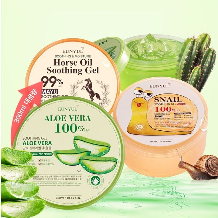 Eunyul Skin Calming Moisturizing Soothing Gel 300ml 4 Options #Eunyul