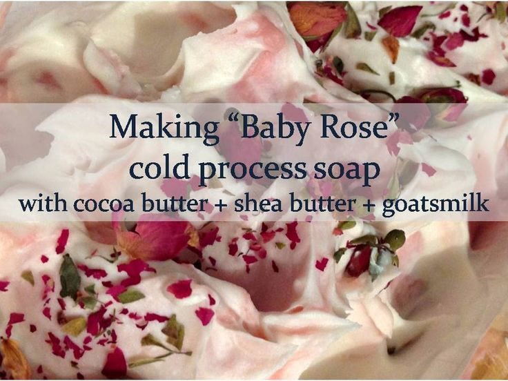 "Maylilly Soaps - Here I am making ""Baby Rose"" cold process soap. Don't miss a video by popping over and subscribing to my channel."