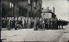 1926 United Kingdom general strike - Tyldesley miners outside the Miners' Hall during the strikeThroughout the strike, intense negotiations between the T.U.C. and the government took place at 10 Downing Street. On 13 May, the T.U.C. called off the strike, recognising that the country was somehow muddling through. London's dockers, print workers and transport workers remained out for a further six days in protest at the climb-down. The miners remained locked out until September, and…