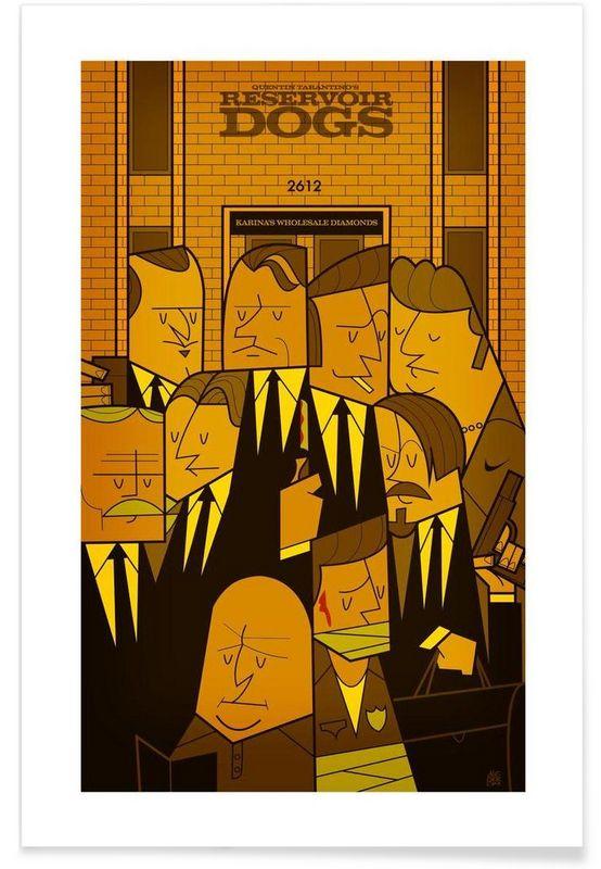 Reservoir dogs en Affiche premium par Ale Giorgini | JUNIQE
