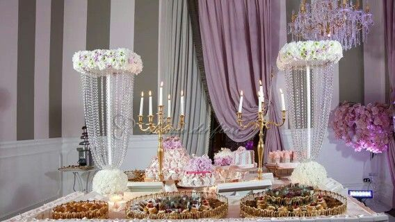 Luccicante sweet table