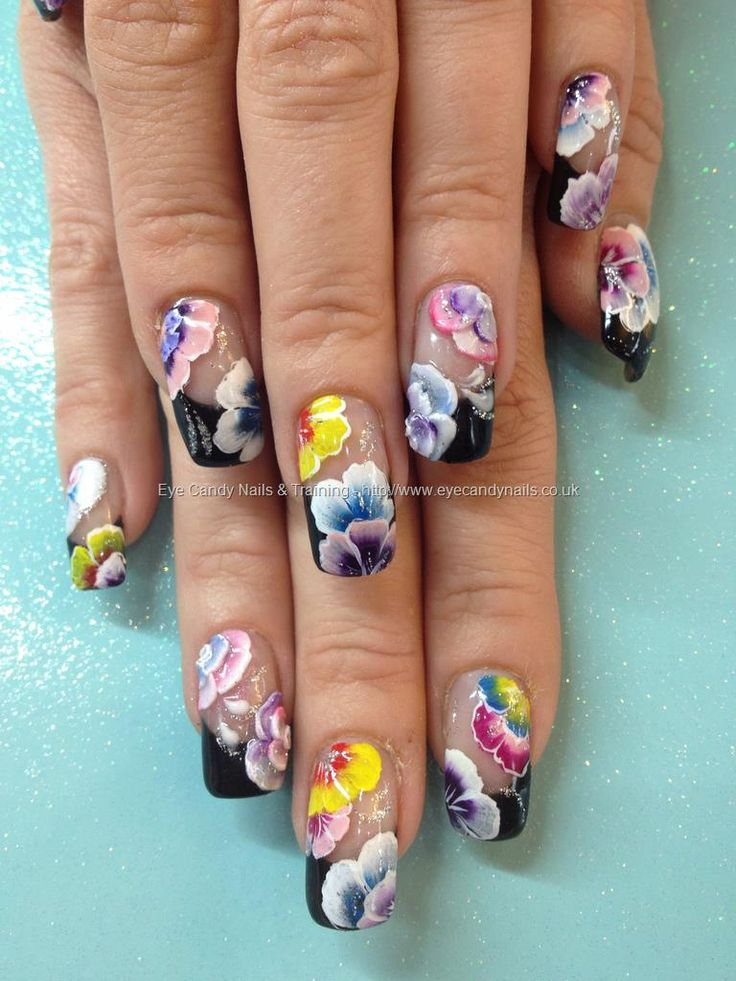 One Nail To Rule Them All A Bit Too Much Neon: 17 Best Ideas About 3d Acrylic Nails On Pinterest