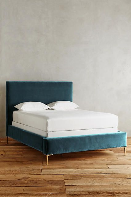 Velvet Edlyn Bed - anthropologie.com