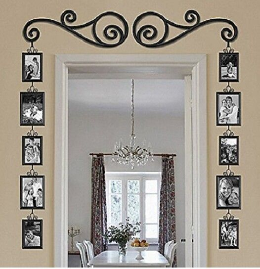 324 best homes with appeal images on pinterest chair for Decorative door frame ideas