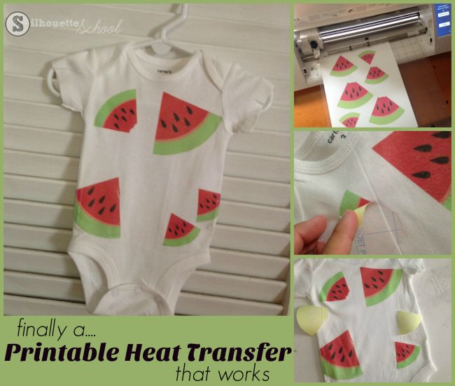 Finally A Printable Heat Transfer Paper I Love To Use With