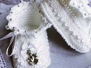 Booties Crochet for beginners | Fair Masters - handmade, handmade